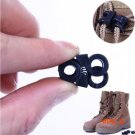 10Pcs Shoe Shoelace Buckle Stopper Outdoor Camping Rope Clamp Cord Lock BC2384