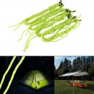 4PCS/Lot Fluorescent Tent Ropes Runners Camping Cord High Quality BC2451