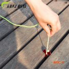 4pcs Red Tent Floor Nail Outdoor Fiestas Wedding Party Tent Peg Path Camp Wind Rope Anchor