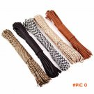 6 colors Paracord 30 meters a roll Cord Lanyard Rope Mil Spec Type 7 Strand 100FT Climbing