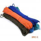 5 colors Paracord 550 Paracord Parachute Cord Lanyard Rope  Mil Spec Type III 7 Strand 100