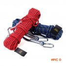Rock climbing ropes 12 mm climbing rope mountaineering safety rope prompt drop outdoor cam