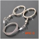 Stainless Steel Wire Saw Scroll String Chain Saw Emergency Camping Hunting Survival Tool E