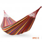 Portable Cotton Rope Outdoor Swing Fabric Camping Hanging Hammock BC2550