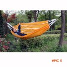Double Person Portable Outdoor Outing Rest Bed Parachute Nylon Fabric Rope Hammock Outdoor