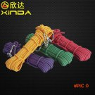 Outdoor 10.5mm Paracord Parachute Cord Brand New Rappelling Rope Climbing Safety Rope Lany