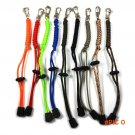 2pc Parachute Cord Lanyard Rope Handmade Key Flashlight Keyring Camping Camo Knife (9 colo