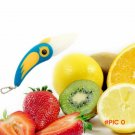 NEW 1 Piece Bird Shaped Ceramic Folding Knife Kitchen Outdoor Camping Home Fruit Vegetable