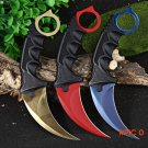 Stainless CS GO Counter Strike Karambit Claw Knife Cool Durable Anti-rust Outdoor Survival