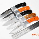 Falcon Handmade Forged hunting knife survival knives 7CR18MOV steel outdoor camping Tactic