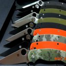 Custom C81 knife C81GPBK2 folding knife G10 handle 9cr13 steel blade knife outdoor camping
