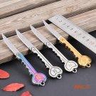 Wholesale Retail OK key tool knife gift knife outdoor portable mini Fold Pocket Chain Knif