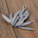 Outdoor Pocket Multi Function Tools Mini Folding Keychain Pliers Knife Screwdriver For Out