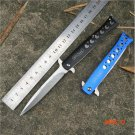 2016 new hollow Swiss Swordfish ALICE Browning folding knife outdoor camping knife self-de
