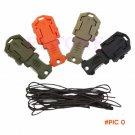 EDC Gear Fold mini pocket tool portable keychain knife for zipper backpack key chain camp