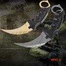 5 Color Hunting Karambit Knife CS GO Never Fade Counter Strike Fight Survival Tactical Kar