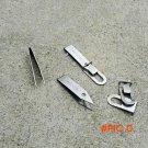 EDC Gear Stainless Tweezers Tick Gripper Survival Bush craft Manicure Knife Pocket Tool Ke