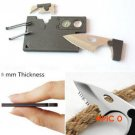 10 in 1 Multi Purpose Pocket  Survival Knife Outdoor Camping Tools BC621