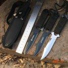 American Saber Leggings Paratrooper Knife Haller Diving Straight Outdoor Survival Knife Fi