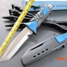 Hot 440C diver survival knife tactical knife blade polished surface fixed diving knife cam
