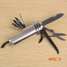 Swiss Folding Knife Stainless Steel Multi Tool Army Knives Pocket Hunting Outdoor Camping