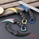 Hot Sale CS GO Camping Folding Knives Top Quality Tactical Claw hobby survival Karambit Ri