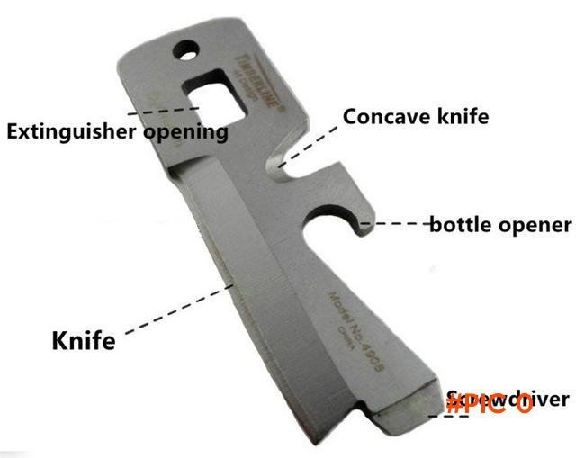 Timberline TIMBERLINE R085 stealth card survival kit tool/multi-function army knife card E