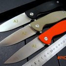 Top quality .Custom Wild Boar F3 Tactical knife 9CR18MOV blade G10 Handle Survival Camping