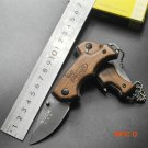 New Buck X44 Multi-function Folding Black Blade Knife Aluminum Handle Survival Tactical Hu