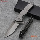 Dcbear High Quality knives Pocket Tactical Combat Folding Knife 7CR17 Blade Hunting Knife