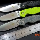 New sale . Custom Hunting Folding Knife With Sand Light Surface 9CR Blade G10 Handle Campi