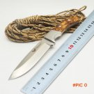BMT Falcon Tactical Fixed Blade Knife 7CR18MOV Blade G10 Handle Straight Knives Pocket Hun