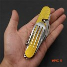 Portable Camping Tool Detachable Picnic Knife Spoon Fork Travel Kit,Multifunction Stainles