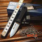 Hot Cold Steel Super Edge Fixed Blade Knife Pocket Camping Tactical Survival Hunting Knive