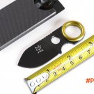 Mini Small Camping Knife Fox Fixed Hunting Knives With 5CR15MOV Blade G10 Handle EDC Survi