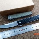 Folding knife Quality Boke VG-10 blade G10 handle  tactical camping outdoor knives utility