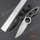 Linder Mini Straight Diving Knife 5CR13 Steel Fixed Blade Knife with Sheath Outdoor Campin