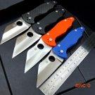 Newest Custom Yojimbo 2 C85 Knife G10 or Carbon Fiber Handle 9Cr Blade C85GP2 folding Fixa