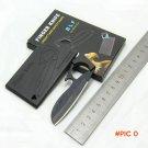 NEW 4 colors credit card finger knife ,Olecranon eagle folding mini Survival  knife, outdo