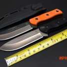 Hot Tops Brothers of Bushcraft Fieldcraft Tactical Fixed Knife G10 7Cr17Mov Utility Surviv