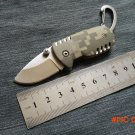 Free Shipping Small Buckle Pocket QQ Knife Keychain Knife Camouflage Handle Mini Knife Out