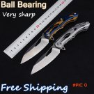 Newest ! 2 Option Tactical Knife,D2 Blade Utility Folding Knife,EDC Gift Knives,Hunting To