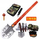 2016 New Style C6 Multifunction Military Sapper Shovel Outdoor Camping Survival Folding Sp