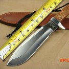 High Quality Fox Hunting Fixed Knife 5Cr15 Blade Steel Head+Wood Handle Bowie Knife Campin