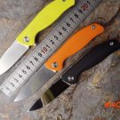 F3 Bearing system Floding knife A variety of styles D2 blade 4 color available G10 handle