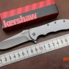New OEM KS 3655 Tactical flipper folding knife 8Cr13Mov blade 410 steel handle camping kni