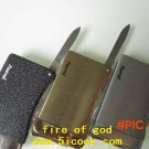 Free shipping  stainless steel folding knife, hunting knife multi-function folding camping