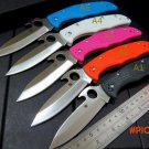 Custom C10 Folding Pocket Knife Tactical Survival Knives Camping Knives Outdoor Hunting Kn