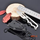 Necklace Knife Fixed 5CR15MOV Blade Knife With SOG ABS Sheath Camping Survival Knives Hunt