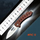 Sanrenmu 4107 Folding Knife Aluminum Handle w/ Clip pocket knife ,hunting knives,Mini camp